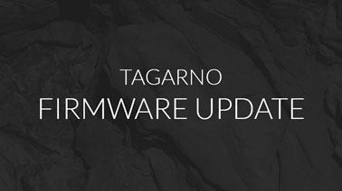 Tagarno Firmware update