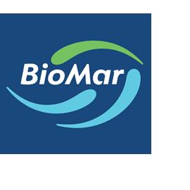 Tagarno user Fish feed manufacturer Biomar blue logo software app digital microscope